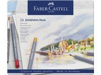 24x Faber-Castell Aquarelkleurpotlood