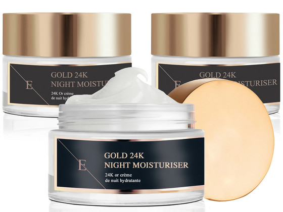 Korting 3x Eclat Skin 24K Anti Ageing Cream