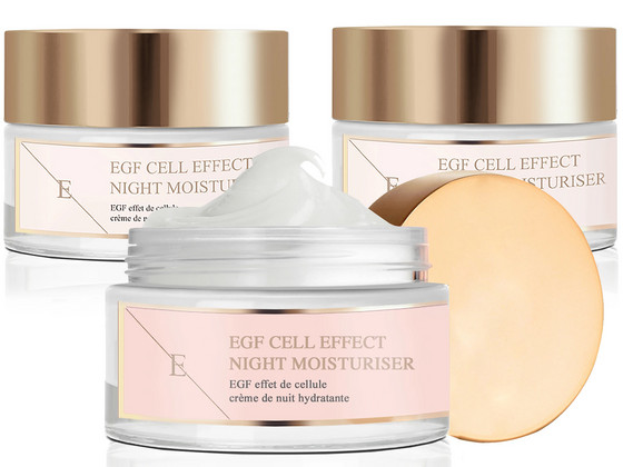 Korting 3x Eclat Skin EGF Cell Effect Night Cream