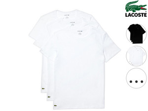 3x Lacoste T-shirt | Rond of V-Hals