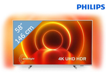 "Philips 58"" 4K/UHD Smart-TV"