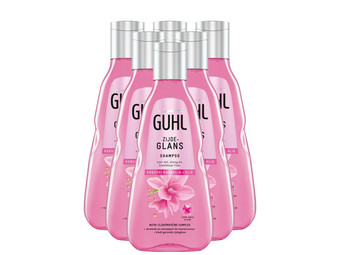 6x Guhl Shampoo Silk Shine | 250ml