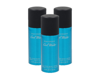 3x Davidoff Man Body Spray | 150 ml