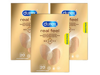 60x prezerwatywa Durex Real Feel