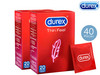 40x Durex Condoom Thin Feel