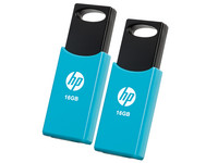 2x HP USB-Stick (2.0) | 16 GB | Blau