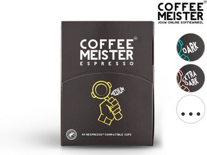 240x Coffeemeister Medium Roast Capsules