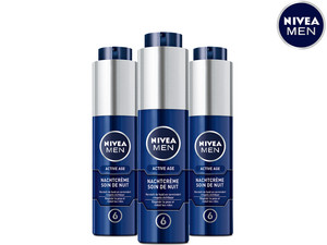 3x krem na noc Nivea Men Active Age | 50 ml