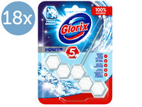 18x Glorix Power WC-Blok | Fresh Breeze