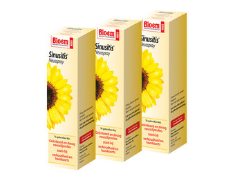 3x Sinusitis Nasenspray | 15 ml