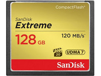 SanDisk Extreme CompactFlash | 128 GB