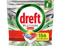 156x Dreft Platinum Plus Vaatwascapsule