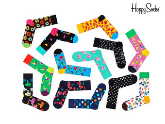 Happy Socks Mystery Pack | Unisex | 6 Paar