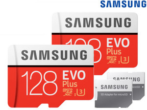 2x EVO Plus microSDXC | 128 GB | 2020