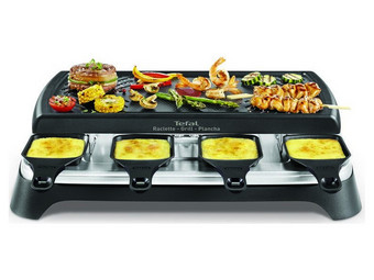 Tefal Gourmet 8 Smart Raclette & Grill-Plancha