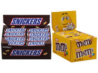 32x Snickers & 24x M&M's