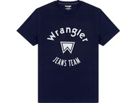 Wrangler SS Jeans Team T-Shirt | Navy