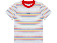 Wrangler Stripe Flame Red T-Shirt