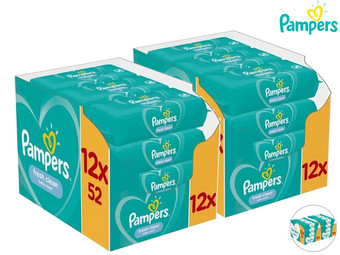 Pampers Baby Wipes | 1248 Stuks