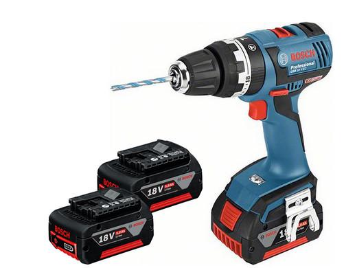 Voorkeur Bosch Blue GSB18 V-EC professionele boor-/schroefmachine + 3x 5.0 SY13