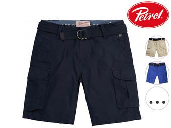 Petrol Industries Cargo Shorts met Riem