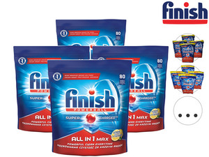320x Finish All-in-One Max Spülmaschinentabs