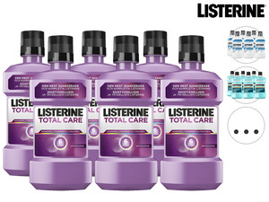 6x płyn do płukania ust Listerine | 500 ml