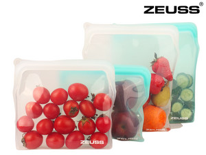 4x Zeuss Siliconen Food Bag
