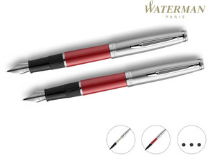 2x Waterman Paris Embleme Stift