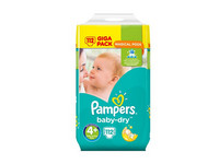 Pampers Baby Dry 4+ | 112 szt.